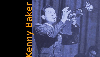Image of Kenny Baker playing the trumpet.