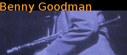 Image of Benny Goodman.