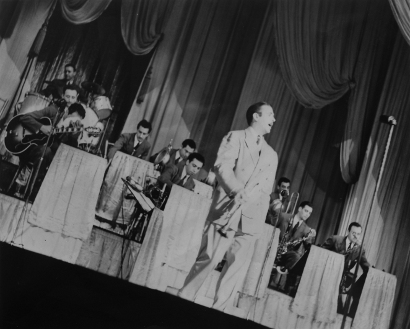 Image of Bunny Berigan and his orchestra.