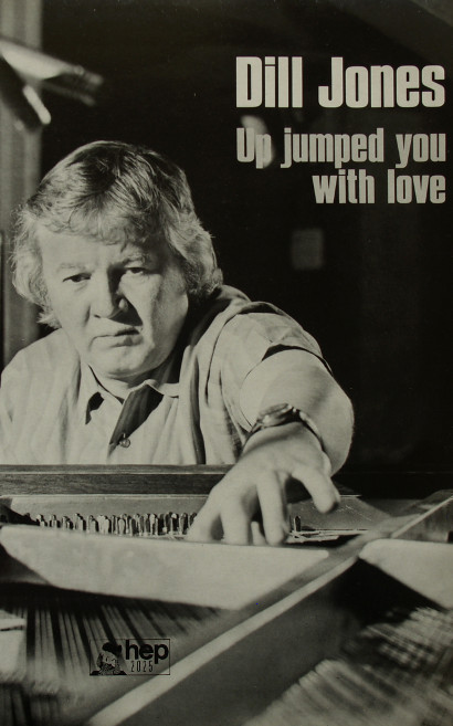 Image of Dill Jones at the piano.