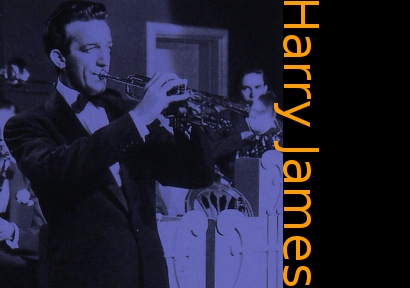 Image of Harry James on trumpet.