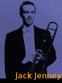 Image of Jack Jenney with his trombone.