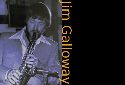 Image of Jim Galloway on saxophone.