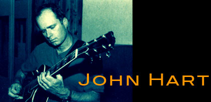 Image of guitarist John Hart