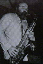 Image of Don Weller on tenor saxophone.