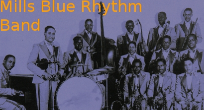 Image of The Mills Blue Rhythm Band.