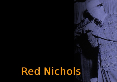 Image of Red Nichols on stage.