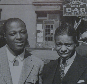 Image of Sidney De Paris and Benny Morton, Harlem, May 1942.