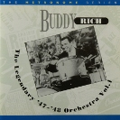 Image of the Hep CD12 - Buddy Rich - The Legendary '47-'48 Orchestra Vol. 1.