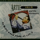 Image of the Hep CD55 - Artie Shaw and His Orchestra - In Hollywood 1940-41 vol. 2.