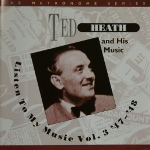 Image of Hep CD61 - Ted Heath - Listen To My Music Vol.3 '47-'48
