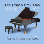 Image of Hep CD2103 - Eddie Thompson Trio - The Bosendorfer Concert 1980 Vol. 2