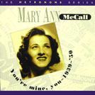 Image of Hep CD76 - Mary Ann McCall - You're Mine, You